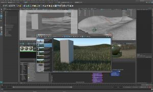 Natural Environments with Maya Paint Effects (c) Martin Schinzel